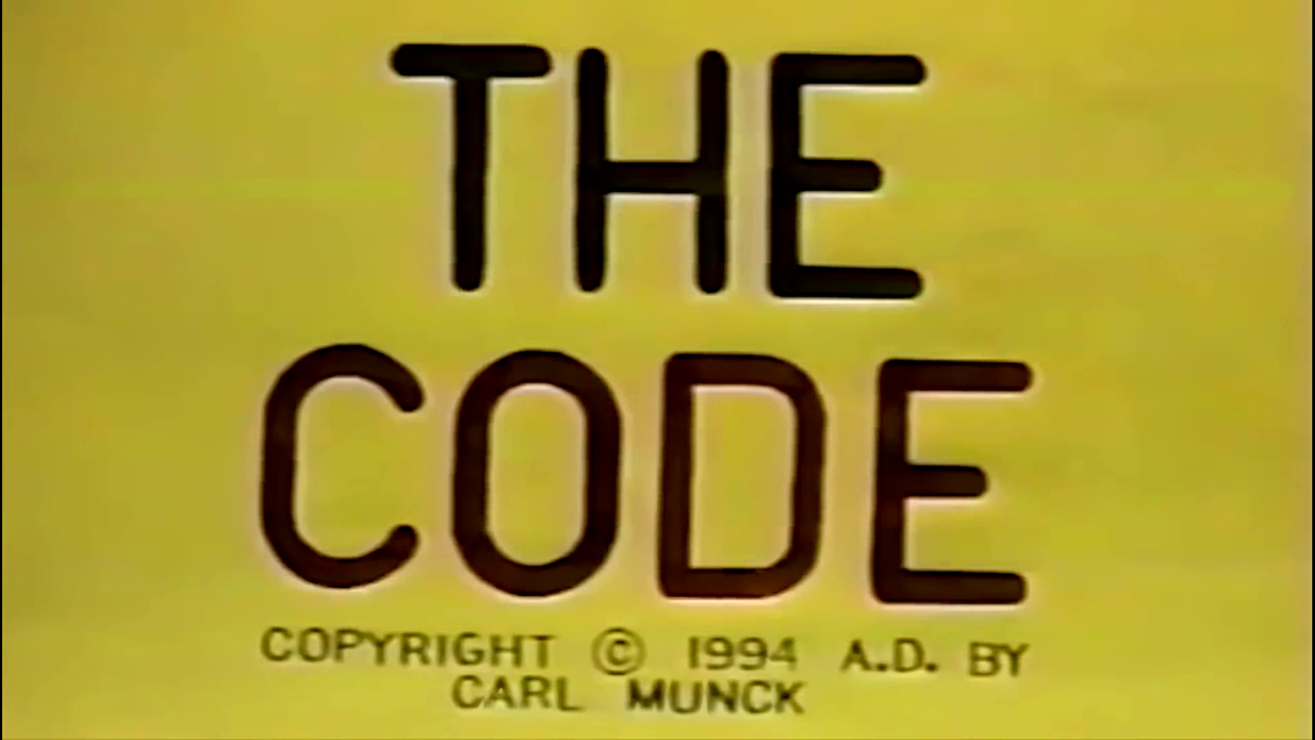 The Code by Carl Munck