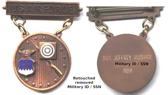 Jeffrey Scott Flesher Excellence in Competition Medal